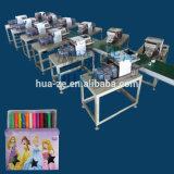 12 Farbenplasticine-Verpackungsfließband