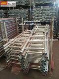 Cup-Verriegelungs-Baugerüst zerteilt Zugriffs-Gestell-Stahl-Strichleiter