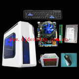 OEM Desktop Computer DJ-C007 with H61 Chipset Motherboard, DDR3 2GB 1066/1333MHz