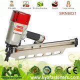 (SRN9021) Pneumatischer gestaltennägelhersteller für die 21 Grad-Plastik gemischten gestaltennägel