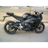 Tubulação de exaustão da motocicleta