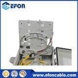 Caja de distribución portuaria de cable de Opitc de la fibra de FTTH 24 al aire libre