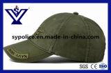 Cappello di baseball militare della protezione del cotone di verde dell'esercito di alta qualità (SYC-0015B)