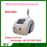 remoção da veia da aranha do laser 980nm, máquina vascular Mslvr01 da remoção