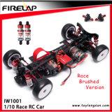 1: 10 carro de corridas da escala RC com frame do metal e transmissor Tg04