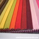 Tissu de sofa de piste de prix bas de polyester