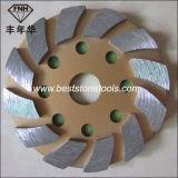 Покрытия эпоксидной смолы пола металла диск полируя машины Bond конкретного меля