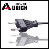 16A europeo 2-Pin Power Cord Plug con il VDE Approved Power Cables