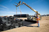 Geomembrane liso com o Straps para Tunnel