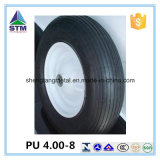 Galvanized Rim Competitive Price PU Solid Tire