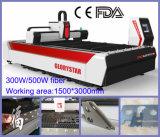 Tagliatrice del laser del acciaio al carbonio dell'acciaio inossidabile del laser della fibra