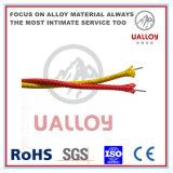 Напечатайте изолированную стеклоткань на машинке j/заплел кабель компенсации термопары