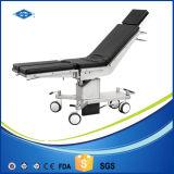 Tabela elétrica do quarto de operação do uso médico com rodas
