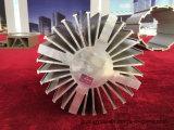 Qualité 6063 profils en aluminium de anodisation de l'extrusion T5 pour le radiateur