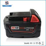 Batteria dell'attrezzo a motore per la batteria di litio rossa di Milwaukee 48-11-1840 M18 18V Xc 4.0ah
