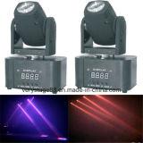 Mini 10W RGBW LED Luz principal móvil del partido