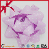 2016 Single-Faced Poly Plain Estrella Arco cinta de decoración de la cinta Set para la decoración de árboles de Navidad