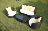 Suite Space-Saving empilables Wicker pour le tableau Balcon café en plein air Set and Bar Lounge Chaises