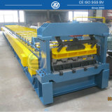 4 acanalar el rodillo del Decking del suelo que forma la máquina