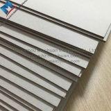 Tarjeta de viruta gris rígida gris de la tarjeta de papel de la cubierta de libro China hecha