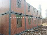 Aレベルの熱い販売のための耐火性の移動式プレハブかプレハブの家の容器の家を折る低価格