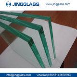 Allumeur inférieur plat en verre Tempered de fer en verre de flotteur de sûreté faite sur commande de construction de bâtiments