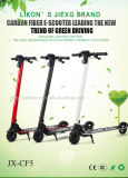 Jiexg Patent 5inches Carbon Fiber E-Scooter (JX-CF5) mit 24V, 10.8ah, 250W Brushless Motor Super Good Quality mit Cer, RoHS, MSDS Certificates Electric Scooter.