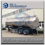 45 M3 Food Grade Farinha Tanker Trailer Tipping Dry Bulk Tanque