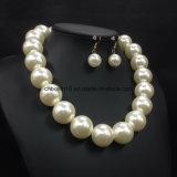 Подгонянные ювелирные изделия перлы высокого качества установленные для женщин