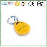 새로운 도착 문 접근 제한 시스템을%s 다채로운 125kHz Em4100 Keyfob RFID 키 카드 꼬리표
