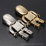 MetallGolden Robot Shape USB-Flash-Speicher für Gift