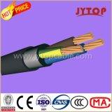 Yxv (N2XY) de cable de cobre, 0,6 / 1 kV XLPE, cables multipolares, con conductor de cobre