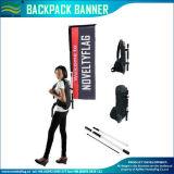 la publicité de marche de sac à dos d'indicateur de polyester tricotée par 120GSM (J-NF04F06095)