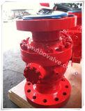 Robinet à tournant sphérique de l'acier de fonte de Wcb de fournisseur de Pdvsa rf (Q41H)