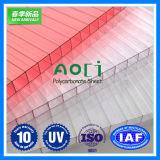 Feuille 2016 de polycarbonate de Zhejiang Aoci pour le plafond de la station de train moderne de ville