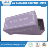 Изготовленный на заказ Chocolate Macaron Packaging Box с Inlay Two Flap Paper Box