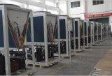 Save75%電気Cop4.23 R410A 12kw、19kw、35kw、70kwの105kw 380voutlet 60deg c OEMの空気ソースヒートポンプの給湯装置