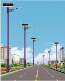 9m Solarstraßenlaternemit 60W LED Lampe