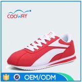 Chaussures pulsantes légères de sports de tissu de maille de mode