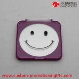 Cover를 가진 미소 Face Square Pocket Plastic Mirror
