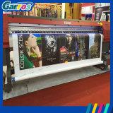Máquina solvente del trazador de gráficos de la impresión de la cabeza de impresora del papel pintado Dx5/Dx5+ de la película de la transferencia de Garros Eco