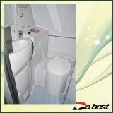 질 버스를 위한 호화스러운 화장실 씻기 룸