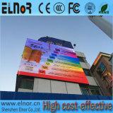 Pantalla de visualización a todo color al aire libre de LED P10