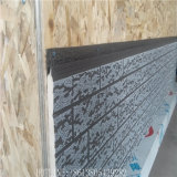 Comitato decorativo impresso rivestito di alluminio del metallo per la facciata della parete