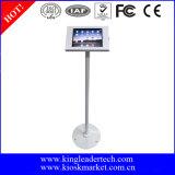 Élégant pour la clôture de kiosque en métal d'iPad et le long stand mince de colonne