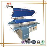 Máquina passando da imprensa do vapor da lavanderia com controlo automático