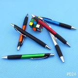 크리스마스 선물 인기 상품에 플라스틱 볼펜 싼 다채로운 선물 펜