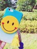 Горячее аргументы за iPhone6 PC градиента усмешки шаржа способа