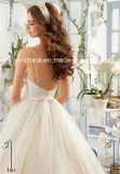 MoriリーMorileeの恋人の細い肩ひもの簡単なウェディングドレス(夢100055)