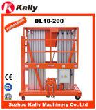 販売(DL10-200)のための6m-14mのアルミ合金のエレベーターの物質的な縦の上昇